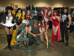Super-Hero Gathering