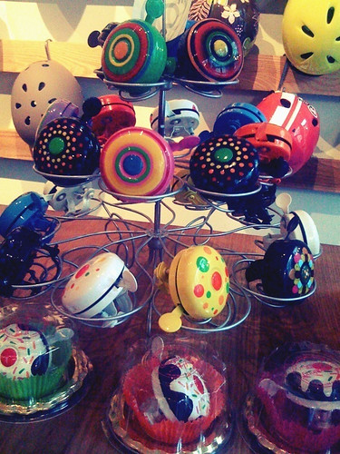 Cupcake bike bells!!