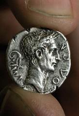 Del Boy Roman coin