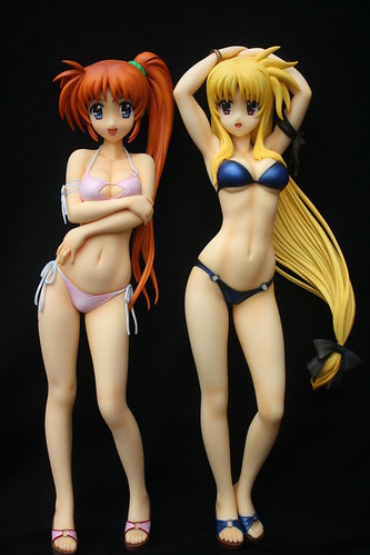 Nanoha and Fate