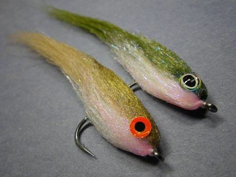 Laser Dub Saltwater Flies