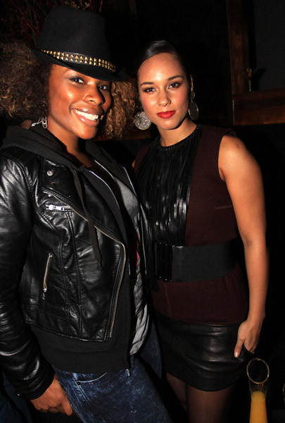 K-Foxx-and-Alicia-Keys by Fee World Order