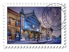 Correos Espaa lanza un sello conmemorativo de la antigua estacin de tren de Almera, con una foto de Domingo Leiva (dleiva) Tags: domingo almeria almera estacin renfe leiva dleiva