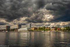 Umeå (johan.bergenstrahle) Tags: 2017 finepics umeälv umeå cityscape evening hdr juli july kväll river stadsbild sverige sweden umeriver älv