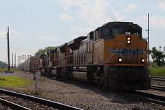 UP 8656 (CC 8039) Tags: up ihb trains sd70ace sd70m ac44cw genset sw1500 slug dolton illinois