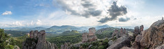 Belogradchik Panorama 2 (Chris B70D) Tags: city break hotel mountain rural country holiday bulgaria sofia vitosha mountains warerfall belogradchik town capital europe sun summer sights wedding friends landscape scenery architecture buildings detail composition travel photography architect architectural sky clouds horizon contrast texture raw canon 70d traveller european tourism tourist 3 day guide panorama panoramic montage panning wide scene view distortion bulgarian blue clear hot explore nature urban