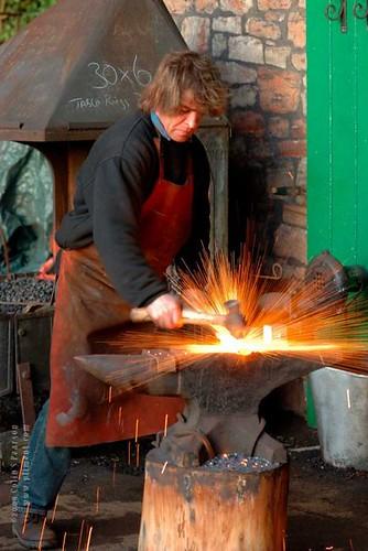 Blacksmith.  Photo copyright Colin Pearson 2008