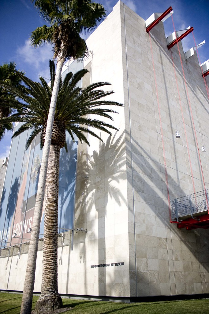 Broad Contemporary Art Museum at LACMA