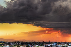 Return To A Favorite Storm (jimhankey) Tags: city sunset red arizona sky cloud mountain storm mountains fall phoenix rain weather yellow skyline clouds gold grey downtown desert dusk gray scenic naturallight stormy vista thunderstorm goldensunset 2008 beautifulclouds beautifulview sunray desertview eveninglight phoenixarizona beautifulscenery southmountain phoenixaz cumulous scenicview desertmountain maricopacounty cumulousclouds cumulouscloud nikond200 phoenixskyline southmountainpark cloudbanks dearflickrfriend jimhankey arizonaweather goldendusk phoenixweather phoenixariz jacksonstreetgarage arizonafall