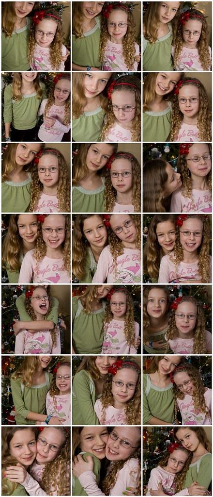 Christmas photo outtakes