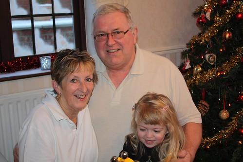 Grandma Sue, Granddad, & Catie