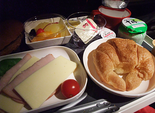 Sdi's dinette inflight meal