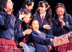 Mamma Mia.  りんご娘のライブ コンサート.  Over  113,000 visits to this photo. (Glenn Waters ぐれんin Japan.) Tags: show ladies girls 2 people cute girl japan youth fun happy japanese concert nikon uniform theater comic live stage young manga smiles teenagers teens noflash teen aomori hirosaki schoolgirls japon gossip 青森 弘前 gosip ニコン iwakimachi d700 nikond700 ぐれん glennwaters afsnikkor70200mmf28gedvrii ringomusume りんご娘 りんご娘のライブコンサート