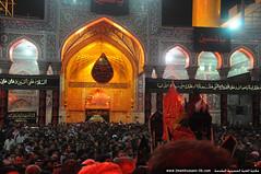 باب القبلة الداخلية لمرقد سيد الشهدء أبي عبدالله الحسين عليه السلام