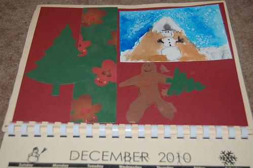 Adam's calendar gift - December