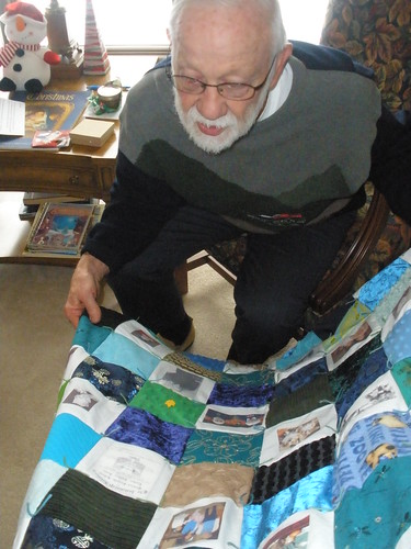Looking at the Sensory and Memory Quilt