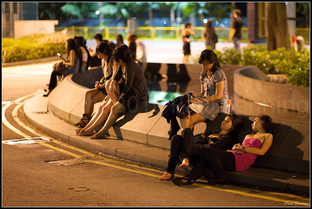 """New Year's Eve and Tired Ladies"" Singapore (January 2010)"