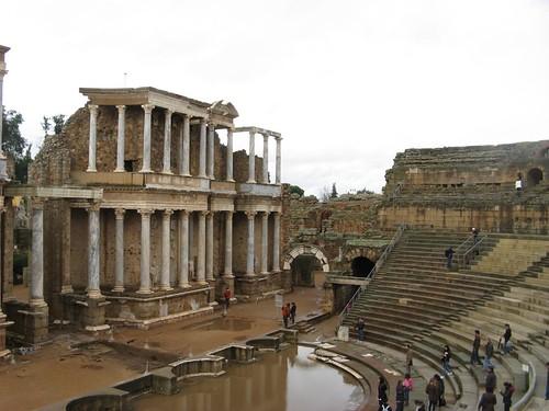 Vestigios Arqueológicos de Mérida; Espanha; Dezembro 2009