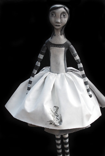 SOLD alice in greyscale