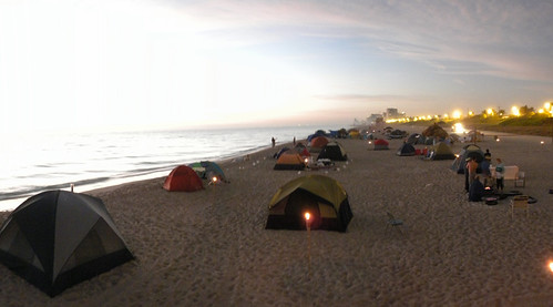 Consejos a tener en cuenta en un camping de playa