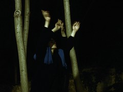 Crying out to the spirits (awakethetrees) Tags: trees boy male nature night dark movement power magic young spirits soul ixtlan cryingout athousandmovesaminute