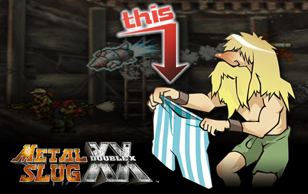 Metal Slug XX Underwear
