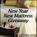 New Year, New Mattress Giveaway - Bizziemommy.com