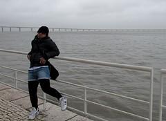 Ponte Vasco da Gama (Linda {*nel mio giorno di dolore che ognuno ha*}) Tags: bridge me girl hat river lisboa lisbon fiume remix ponte calatrava shorts wardrobe adidas tejo lisbona topten vascodagama leggins
