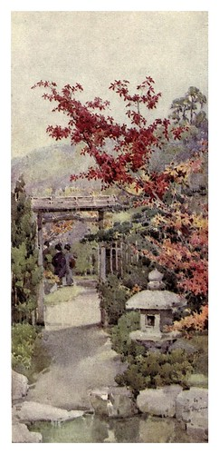 027- El arce rojo-The flowers and gardens of Japan (1908)-  Ella Du Cane