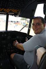 C-130 Hercules (John. Romero) Tags: airplane star military airshow b17 sabre planes airbus a380 shooting c17 transports f80 fighters a4 warbirds zero 2009 flyingfortress hercules eaa oshkosh c130 c5 bombers a10 f86 b25 f15 shootingstar p40 lockeed
