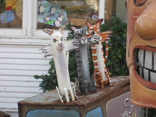 Detail of kitties by milkman