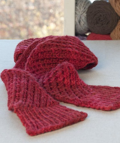 Free Pattern Star Stitch Scarf For Craft Hope Vickie Howell