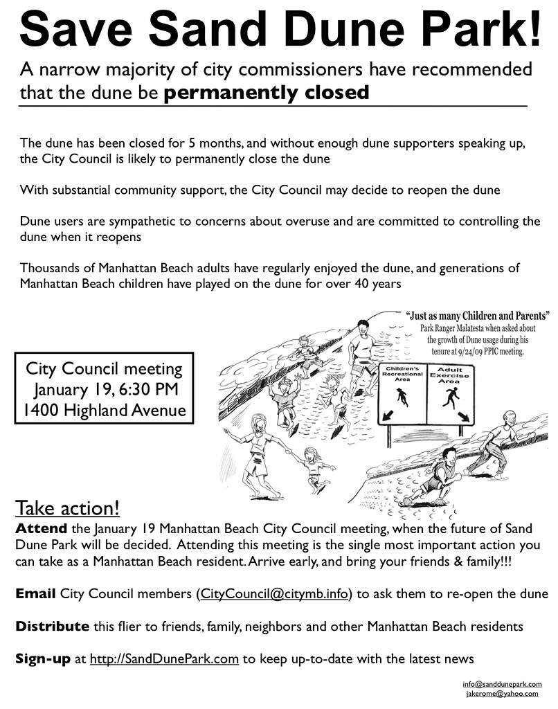 Save Dand Dune Park!