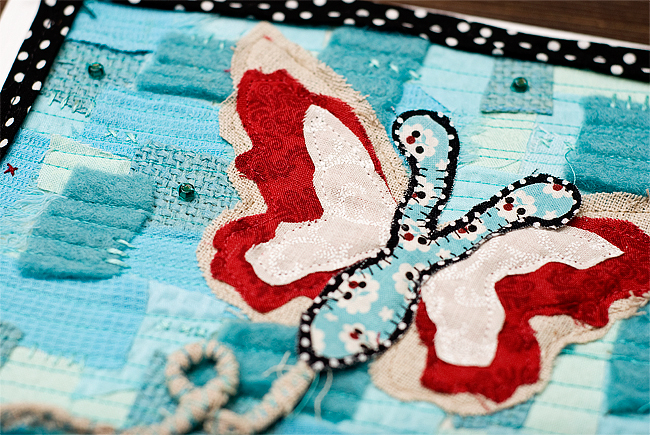 butterfly quilted card 5