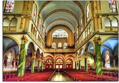 St. Jerome RC Church, South Bronx, NY (kw~ny) Tags: church saint catholic bronx jerome hdr romancatholic fouro stjerome kevinwoods