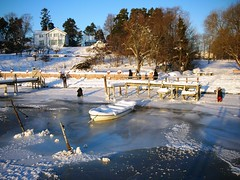 The Magic of extreme cold and snow at Oslo Fjord #19