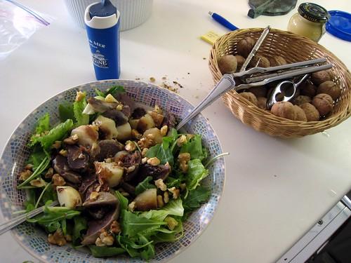 Gesier Salad
