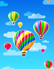 up up and away (nettielaboriqua) Tags: flowers love graphics clipart