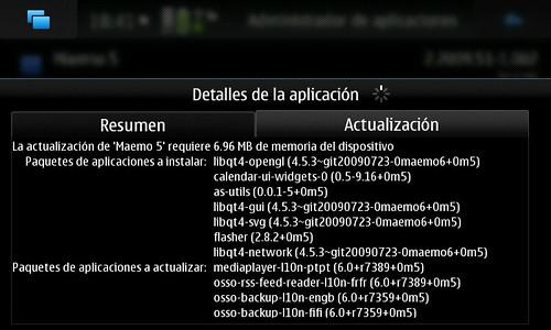 Actualizando N900