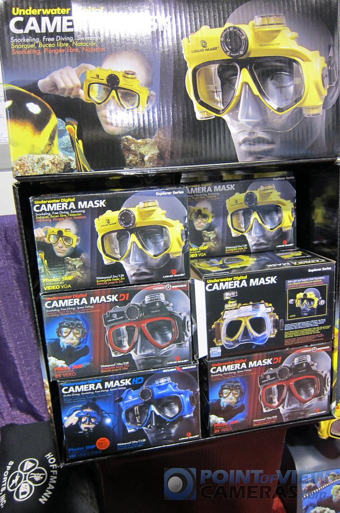 Liquid Image Scuba Masks