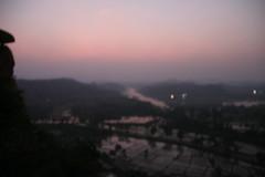 IMG_1441 (jaglazier) Tags: trees panorama india mountains clouds landscapes january rivers fields farms sunrises karnataka hampi 2010 deciduoustrees 1710 vijayanagara ricepaddys copyright2010jamesaglazierandjamesaferguson