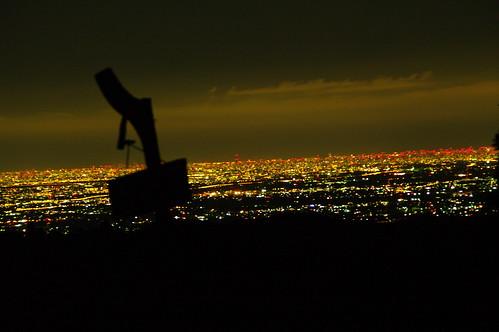 白石峠から見る東京方面の夜景
