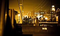 Midnight Train (batakbeatrix) Tags: seattle railroad night train canon bnsf sodo flickrchallengegroup