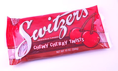 Switzers Chewy Cherry Twists Bag