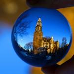 Westerkerk, Amsterdam - The Netherlands. Crystal ball