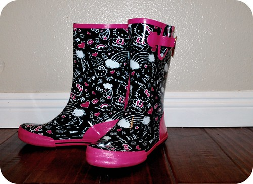 "Hello Kitty Rain Boots ""Adult Size"""