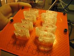 Printed mendel springs
