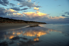 13th Beach at sunset (Barry Pate) Tags: sunset beach dusk australia victoria 13thbeach the4elements sandandsky magicalbeauty theperfectphotographer