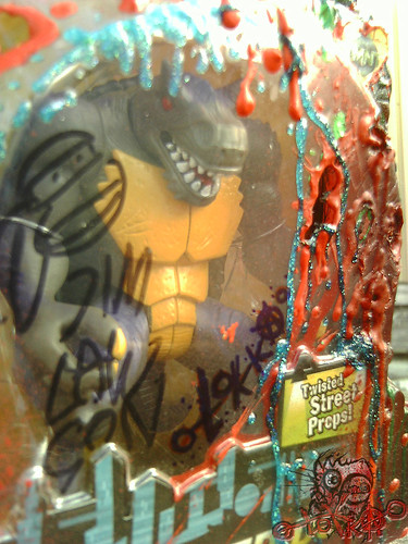 terrible2z.com - 10th anniversary sweepstakes :: MUTATED DON **M.O.C. (( MUTILATED ON CARD, Signed by Jim Lawson & tOkKa  )) FINAL iv