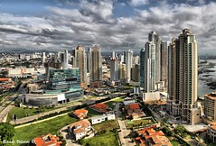 Apartment Buildings and Houses in Punta Pacifica, Panama (Bernai Velarde Photography ) Tags: houses building apartment punta panama pacifica